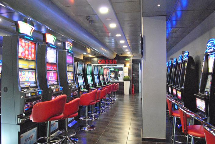 Sala Slot VLT American Bingo Scafati Salerno